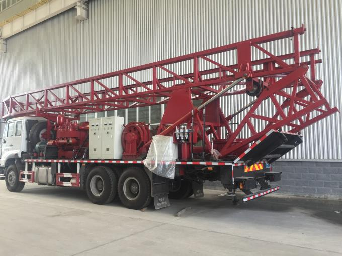 Double Power SPC-600 truck-mounted drilling rig for 600m water hole or geological hole