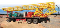 SPT-600 portable borewell drilling rig for 600m water well or geological hole