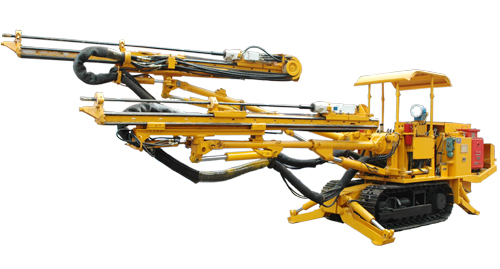 CMJ2-27 HIGH SPEED DTH ROCK DRILLER FOR BLASTING HOLE IN THE UNDERGROUND COAL MINE