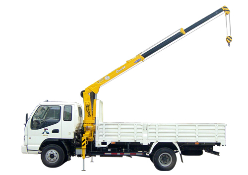 QYS-2IIB  stiff boomed truck-mounted crane 2 tons lifting capacity