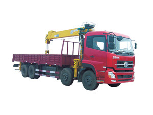QYS-10IIIB telescopic truck-mounted crane for 10 tons material lifting