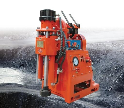 ZLJ-200 Mechanical transmission drilling machine for water probing and dust prevention in the underground coal mine