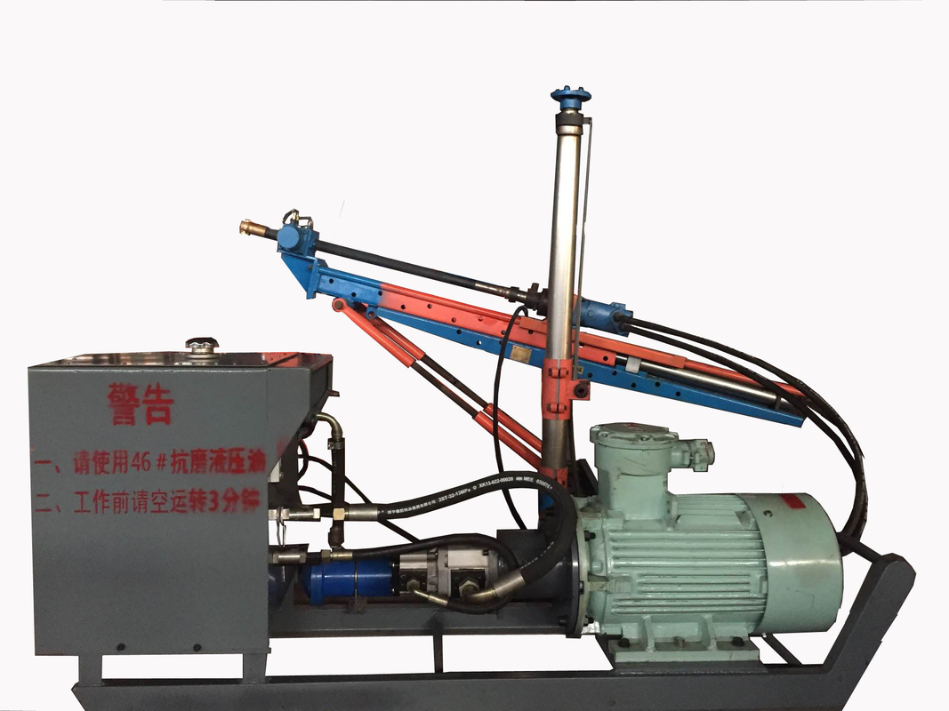 ZYJ-400/130 Light Weight Building Block multi-function drilling rig used in the tunnels