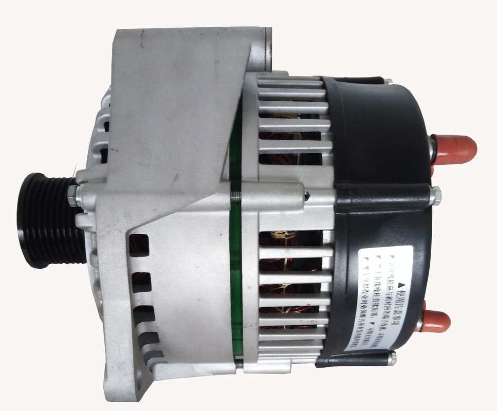 replace double paralled alternators matched with shorten WP7 engine 28V 240A alternator