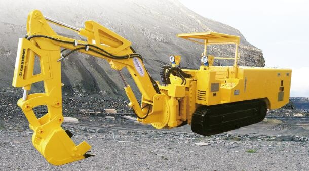 WPZ-30/400 Underground Roadway Maintenance Machine with gethering, breaking and lifting functions