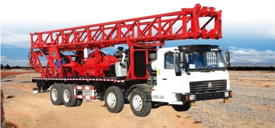 China Double Power SPC-600 truck-mounted drilling rig for 600m water hole or geological hole distributor
