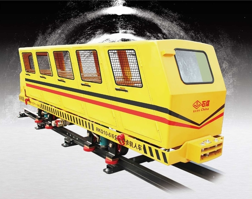 China FLP Coolie Car for Person on Special Rail for the underground coal mine distributor