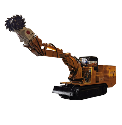 China Multi-function Roadway Repairing Machine with Drum Cutter Scissors Breaking Hammer factory