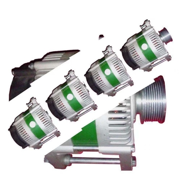 China 85% efficiency  heavy equipment and emergency vehicle alternator 28V 300A distributor