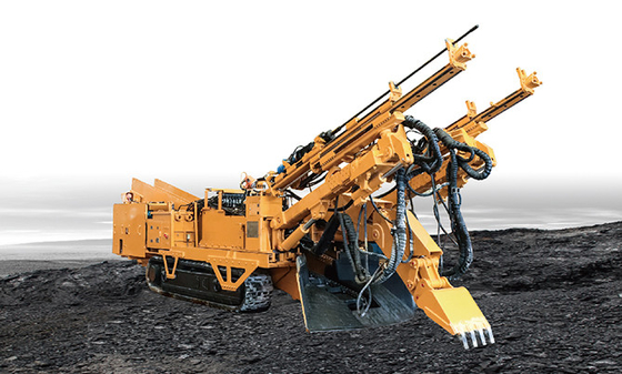China Driller Bolter and Loder for rock roadway distributor