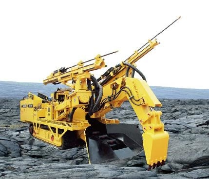 China Driller Bolter and Loder functions integrated in one machine for rock roadway distributor